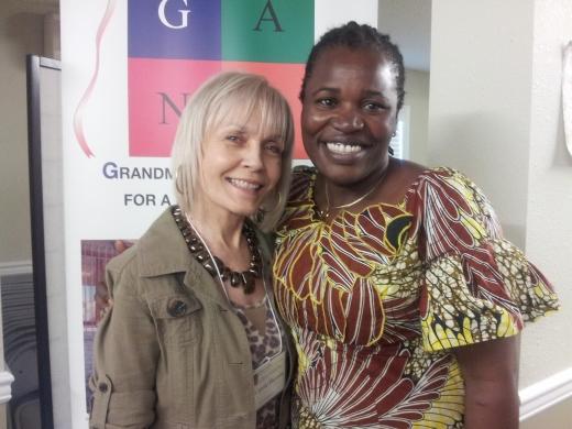 Carole Henson with Ida