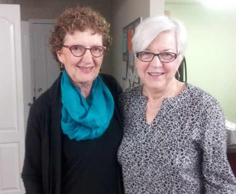 GANG chair Judy Hayman and past chair Louise Barr