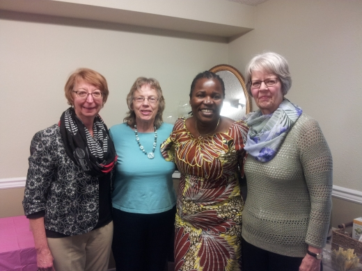 Members of the Eastside Grannies with Ida