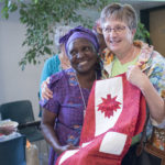 A gift for Maude from GrammaLink Africa in Red Deer
